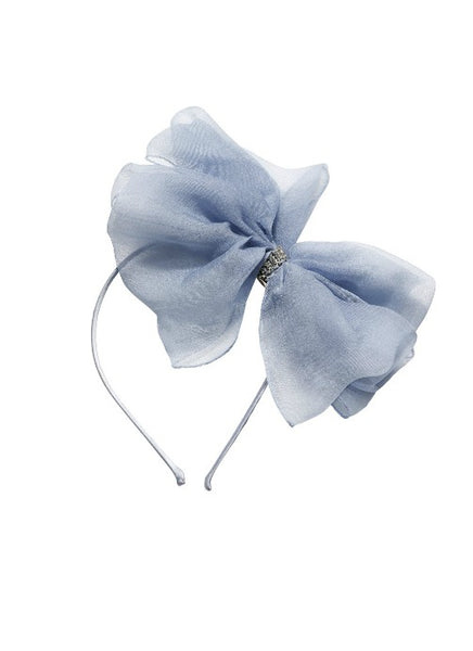 Tutu Du Monde Alice Bow Headband In Bluemoon