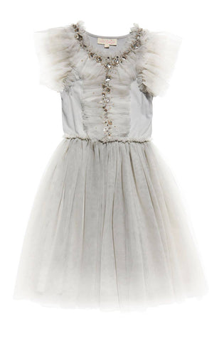 Tutu Du Monde Another Dimension Tutu Dress in Silver available for rent from The Borrowed Boutique.