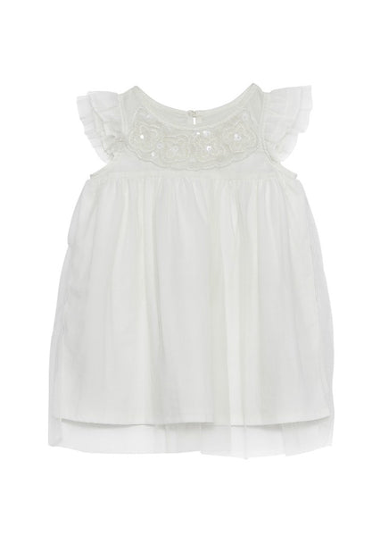 Tutu Du Monde BÉBÉ Buttercup Dress In Milk