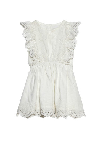 Tutu Du Monde BÉBÉ Carnation Kisses Dress In Milk