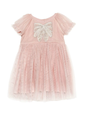Tutu Du Monde BÉBÉ Little Miss Blossom Dress In Marshmallow