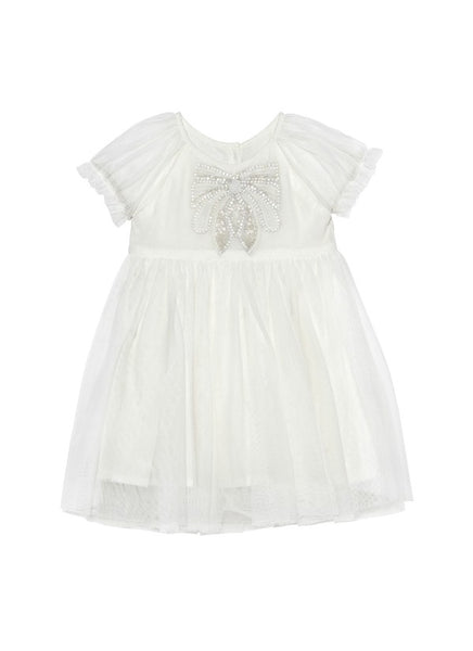 Tutu Du Monde BÉBÉ Little Miss Blossom Dress In Milk