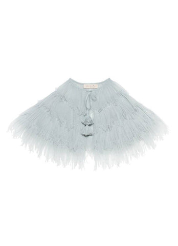 Tutu Du Monde Balmy Nights Cape in Whisper available for rent from The Borrowed Boutique.