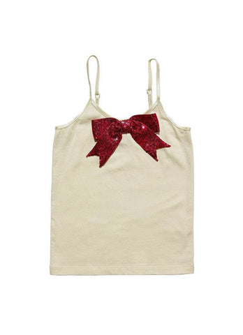 Tutu Du Monde Bells On Top Tank Top in Coconut available for rent from The Borrowed Boutique.
