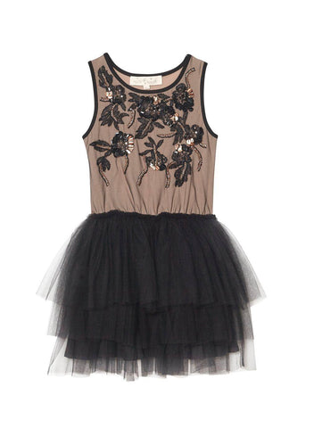 Tutu Du Monde Bewitched Tutu Dress in Cocoa and Black available for rent from The Borrowed Boutique.