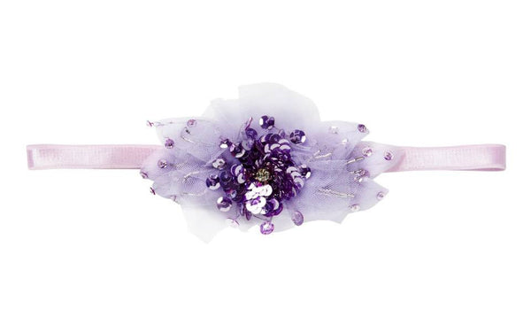 Tutu Du Monde Blushing Violet Headband in Purple Moon available for rent from The Borrowed Boutique.