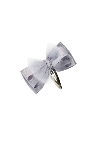 Tutu Du Monde Bow Tales Hair Clip In Haze available for rent from The Borrowed Boutique.