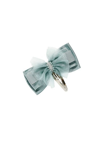 Tutu Du Monde Bow Tales Hair Clip In Ivy available for rent from The Borrowed Boutique.