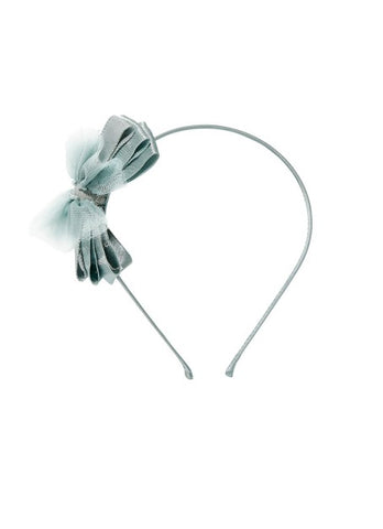 Tutu Du Monde Bow Tales Headband In Ivy available for rent from The Borrowed Boutique.