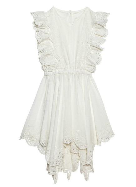 Tutu Du Monde Carnation Dress In Milk