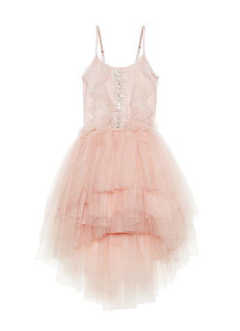 Tutu Du Monde Cascading Tulip Tutu Dress In Marshmallow