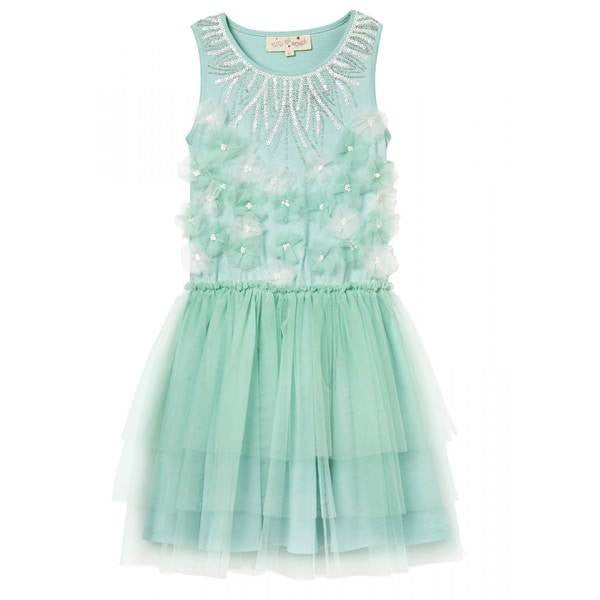 Tutu Du Monde Chain of Daisies Tutu Dress in Azure available for rent from The Borrowed Boutique.