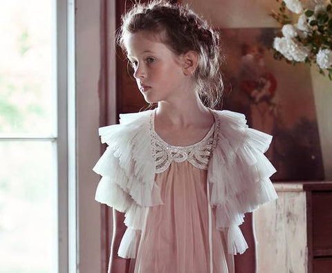 Tutu Du Monde Cloud Cape in White available for rent from The Borrowed Boutique.
