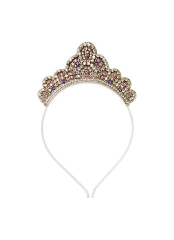 Tutu Du Monde Crown Princess Tiara in Silver available for rent from The Borrowed Boutique.