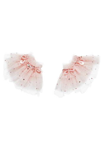 Tutu Du Monde Crystallised Wrist Cuffs In Blossom available for rent from The Borrowed Boutique.