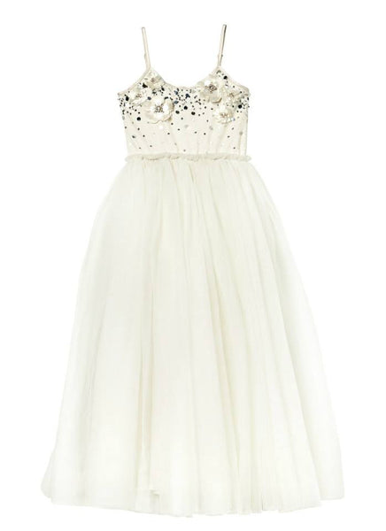 Tutu Du Monde Dainty Darling Tutu Dress (long) in Milk available for rent from The Borrowed Boutique.