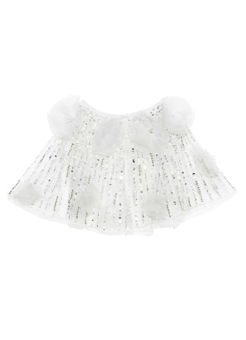 Tutu Du Monde Dancing Daisy Cape In Milk