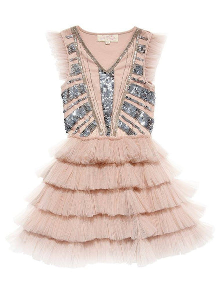 Tutu Du Monde Dazzle Me Pretty Tutu Dress in Blush available for rent from The Borrowed Boutique.