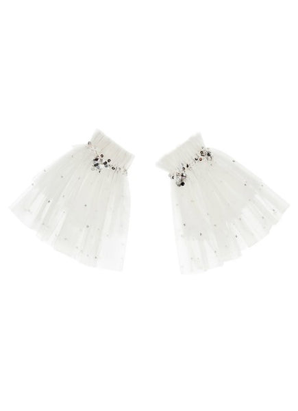 Tutu Du Monde Enchanted Forest Arm Cuffs In Milk available for rent from The Borrowed Boutique.