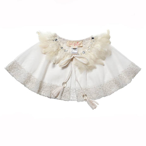 Tutu Du Monde Envy Cape in Milk available for rent from The Borrowed Boutique.