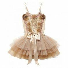 Tutu Du Monde Estella Tutu Dress in Mink available for rent from The Borrowed Boutique.