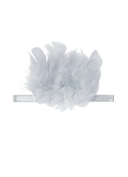 Tutu Du Monde Feathered Thorns Headband In Haze