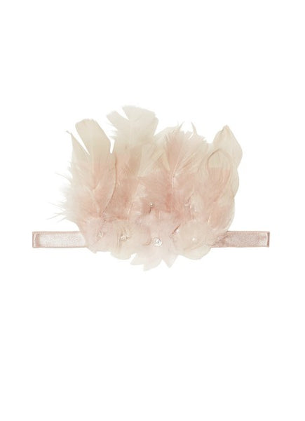 Tutu Du Monde Feathered Thorns Headband In Shortcake