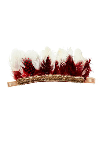Tutu Du Monde Firefly Headband in Rosebud available for rent from The Borrowed Boutique.