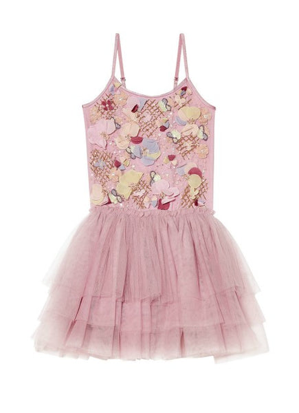 Tutu Du Monde Flower Pot Tutu Dress In Bubblegum