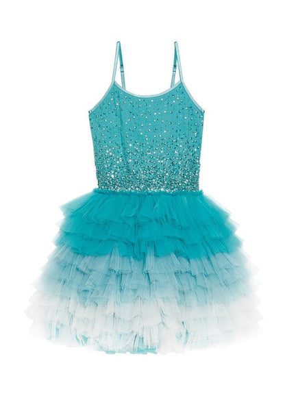 Tutu Du Monde Glitter Bauble Tutu Dress in Emerald available for rent from The Borrowed Boutique.