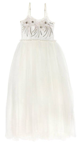 Tutu Du Monde Golden Cage Long Tutu Dress in Milk available for rent from The Borrowed Boutique.