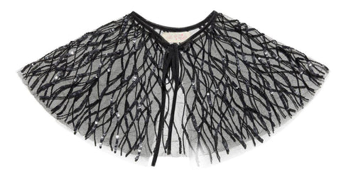 Tutu Du Monde Hypnotise Cape in Black available for rent from The Borrowed Boutique.