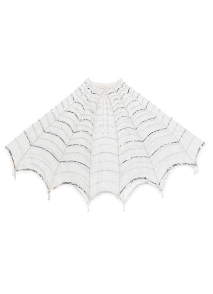 Tutu Du Monde In the Web Cape in White and Silver available for rent from The Borrowed Boutique.