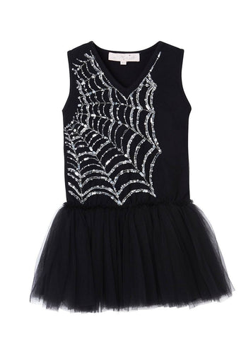 Tutu Du Monde In the Web Onesie in Black available for rent from The Borrowed Boutique.