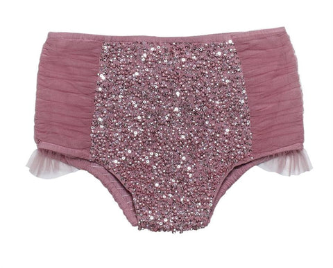 Tutu Du Monde Limelight Shorts in Rosewood available for rent from The Borrowed Boutique.