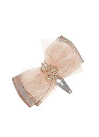Tutu Du Monde Lost Pearl Hair Clip in Rosewood available for rent from The Borrowed Boutique.
