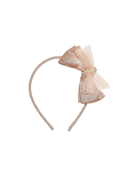 Tutu Du Monde Lost Pearl Headband in Rosewood available for rent from The Borrowed Boutique.