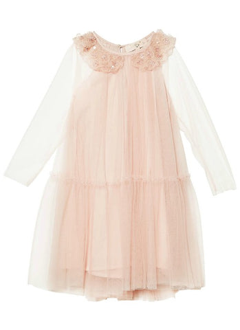 Tutu Du Monde Magic Mirror Dress In Tea Rose available for rent from The Borrowed Boutique.
