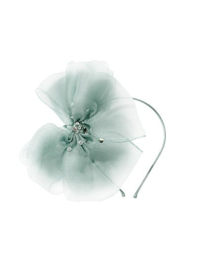 Tutu Du Monde Maya Bow Headband In Ivy available for rent from The Borrowed Boutique.