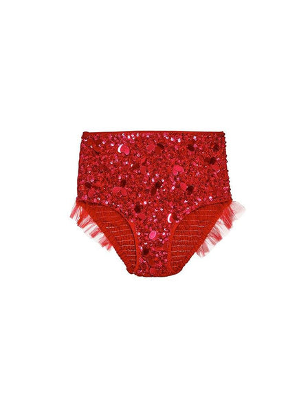 Tutu Du Monde Merry March Shorts in Scarlet available for rent from The Borrowed Boutique.
