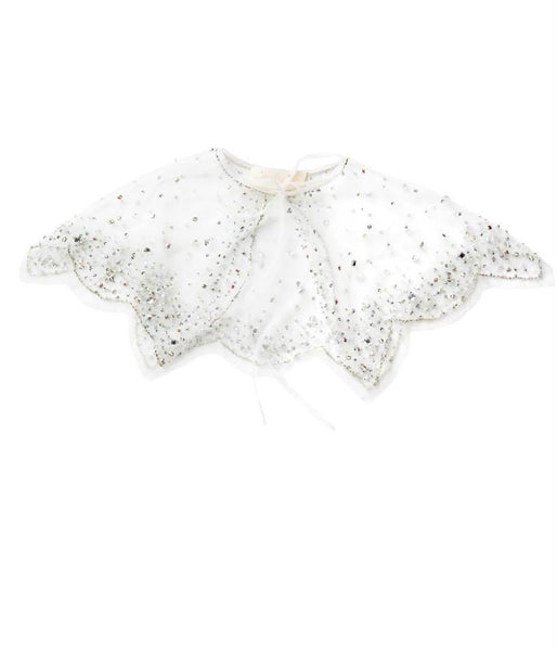 Tutu Du Monde Milky Way Cape in Milk available for rent from The Borrowed Boutique.