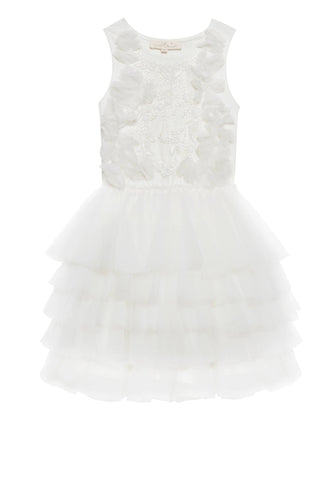 Tutu Du Monde Paradise Garden Tutu Dress in Milk available for rent from The Borrowed Boutique.