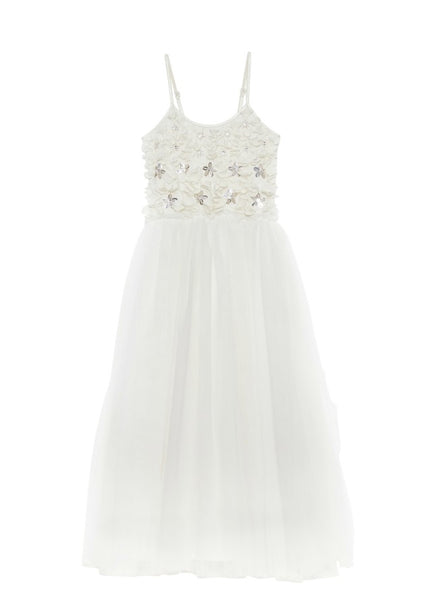 Tutu Du Monde Petal Me Long Tutu Dress In Milk The