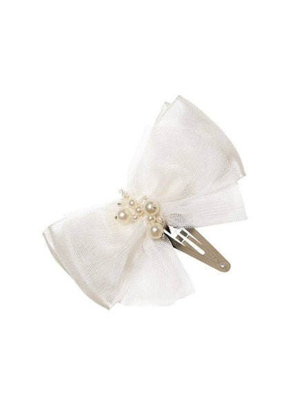 Tutu Du Monde Playing Cards Hairclip in Milk available for rent from The Borrowed Boutique.