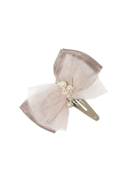 Tutu Du Monde Playing Cards Hairclip in Platinum available for rent from The Borrowed Boutique.