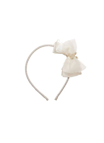Tutu Du Monde Playing Cards Headband in Milk available for rent from The Borrowed Boutique.