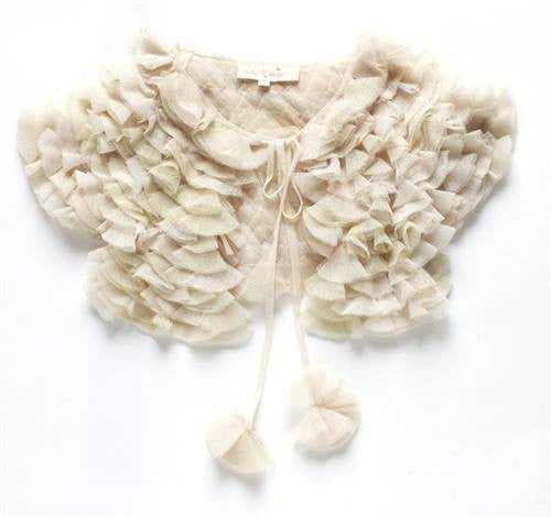 Tutu Du Monde Plie Caplet in Pannacotta available for rent from The Borrowed Boutique.