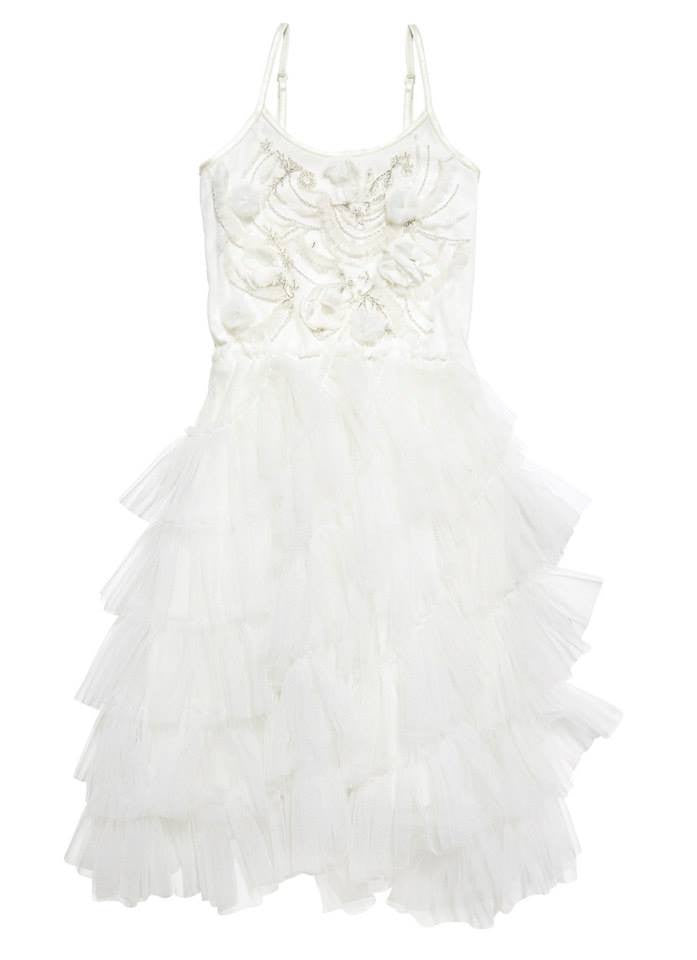 Tutu Du Monde Prairie Tutu Dress Milk For Rent - The Borrowed Boutique