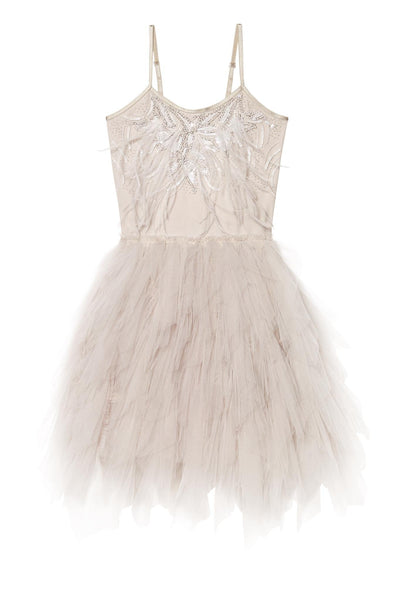 Tutu Du Monde Queen of the Sea Tutu Dress in Platinum available for rent from The Borrowed Boutique.