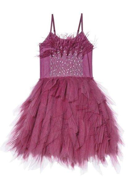 Tutu Du Monde Queen of the Vines Tutu Dress In Blackberry available for rent from The Borrowed Boutique.